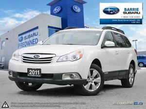 2011 Subaru Outback 2.5 I Limited at Leather,Heated Seats,Roof,B