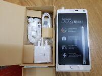 Samsung Galaxy note 4 white 32GB - (Unlocked) Smartphone1