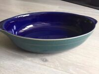 Denby Harlequin Oval Serving Dish - Very good condition