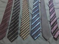Men's formal silk ties