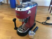 DeLonghi Dedica coffee machine