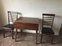 Table and two chairs from Barkers- 6 months old