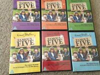 Famous five DVD's (set of 6)