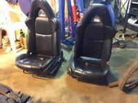 Mazda Rx8 heated black leather seats