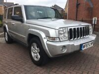 2007 57 JEEP COMMANDER 3.0 CRD LIMITED 5DR AUTOMATIC 7 SEATER M.O.T 08/11/2018