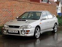 Subaru Impreza Turbo 2000 AWD (1999/V Reg) Saloon + GENUINE 96K + UK CAR + TOTALLY ORIGNAL + RARE +