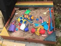 Plum from Argos sandpit