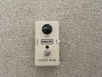 MXR - micro amp signal booster pedal - fantastic condition