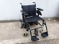 Extra Wide Electric Wheelchair - Extra Wide - Black Bariatric 28 stone