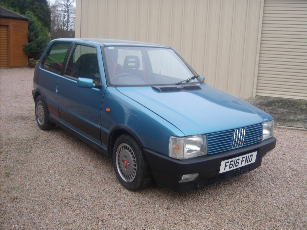 fiat uno turbo ie rare 80s hothatch in wadhurst east. Black Bedroom Furniture Sets. Home Design Ideas