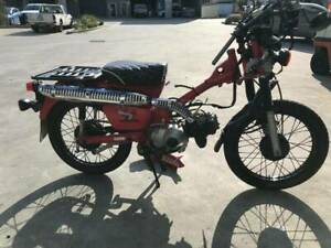 HONDA CT110 CT 110 POSTIE 07/2006MDL 31473KMS CLEAR PROJECT MAKE OFFER