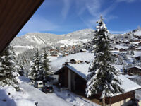 LA CLUSAZ for NEW YEAR, 3 bedroom 64m², ski-in ski-out apartment