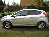Ford Fiesta 1.4 Titanium 5 door hatchback 62 Plate Low Mileage Silver