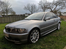 BMW 325 Coupe Grey 84000 Miles, Manual