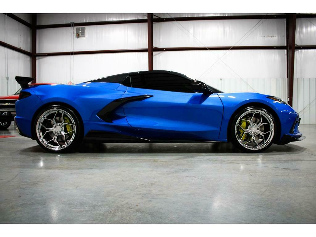 2021 Blue Chevrolet Corvette   | C7 Corvette Photo 6