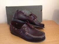 Timberland boat/deck shoes uk7.5 brand-new and with box.