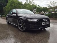 2013 LUXURY AUDI S-LINE-DIESEL-ONLY 40K GENUINE MILEAGE-FULL SERVICE HISTORY-SPOT ON EXAMPLE