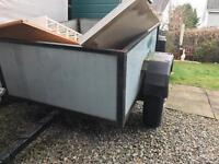 Car Trailer 4ft x 3.5ft with Light Board Kit.