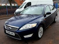 FORD MONDEO GHIA 2.0 TDCI HATCHBACK 47.000 MILES 1 YEAR MOT 3 MONTHS WARRANTY P/X CONSIDERED