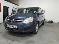 2008 VAUXHALL ZAFIRA 1.6 MPV (7 SEATER) HPI CLEAR - PX/SWAPS WELCOME