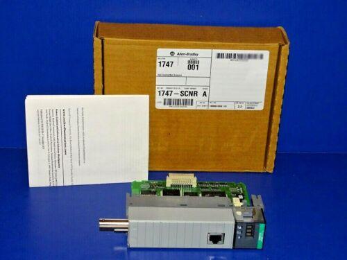 NEW IN ORIGINAL BOX Allen Bradley 1747-SCNR /A ControlNet Scanner SLC 500