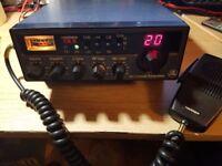 Harrier-CBX CB Radio with external speaker