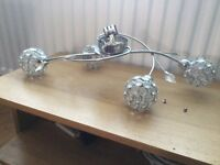 Halogen light fitting, working, good condition