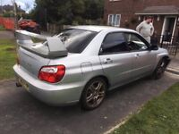 Subaru Impreza WRX 2.0 Turbo 4WD Spares or Repairs sale or swap for Van (not recorded)