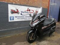 HONDA FORZA 125cc BLACK MODEL 2015 LOW MILEAGE
