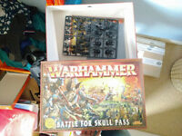 URGENT - Warhammer Battle for Skull Pass FULL SET +EXTRA Dwarf Army and Book +Rulebook