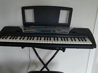 Yamaha keyboard + chair