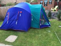 Sunncamp Tourist Plus 4/6 man tent
