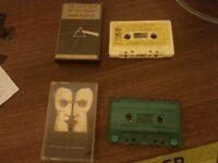 Pink Floyd Album Cassettes (rare)