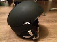RED Snowboarding Skiing Helmet