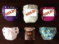 *BRAND NEW* and gently used cloth diapers - $60 value!