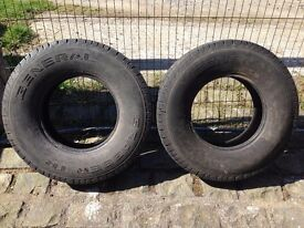 """LAND ROVER DEFENDER 16"""" TYRES"""