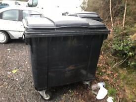 1100 lt wheelie bins commercial domestic recycling waste