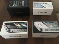 BOXES FOR IPHONES X 5 in total