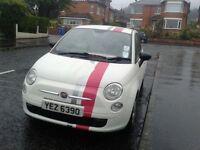 2009 FIAT 500 POP 1.2 ** LONG MOT ** WHITE