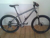 Dmr steel hard tail mountain bike