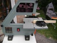 "King 10"" Band Saw complete with cabinet stand"
