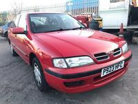 NISSAN PRIMERA SI RED 1.6 NATIONWIDE DELIVERY EXCELLENT RUNNER ****BARGAIN*****
