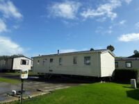 Pre owned Willerby Rio 37 x 12 3 bedroom Static caravan sited on Waterside Holiday park weymouth