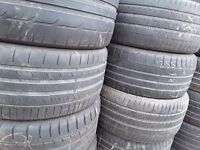 "Part worn tyres /17/18/19""3,5mm/ singles from £15- clearance stock only London Barking"