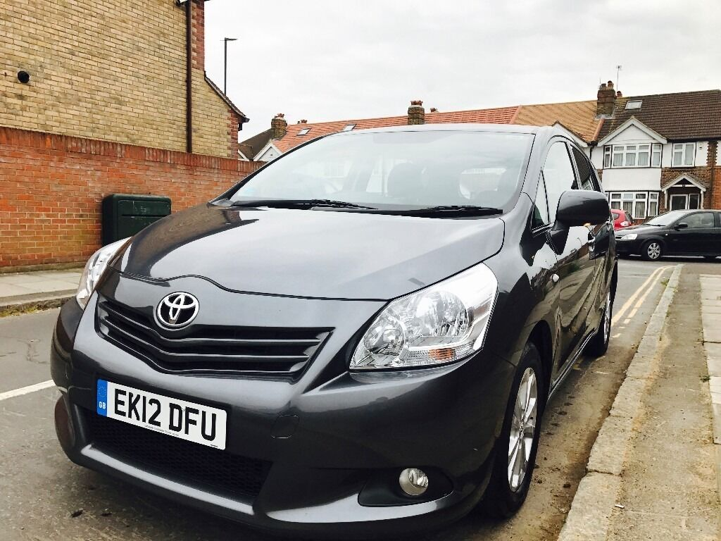 Toyota Verso 2.0 D-4D TR 5dr Manual Diesel 2012 GREY 7 seater