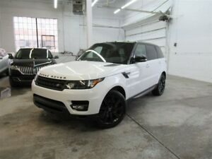 2015 Land Rover Range Rover Sport V8 Supercharged- Dynamic- Stea