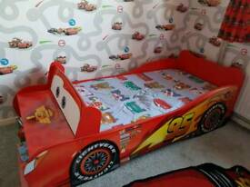 Children's Disney cars bed