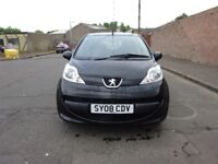 2008 PEUGEOT 107 1.0 PETROL, £20 ROAD TAX,SERVICE HISTORY,MOT TILL NEXT YEAR,HPI CLEAR,CHEAP TAX