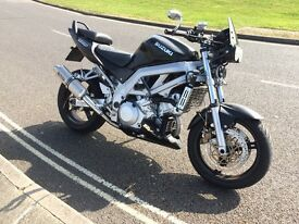 Suzuki SV1000 street fighter