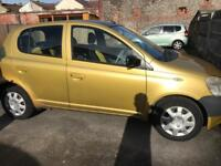 Yaris 1Ltr with a full MOT